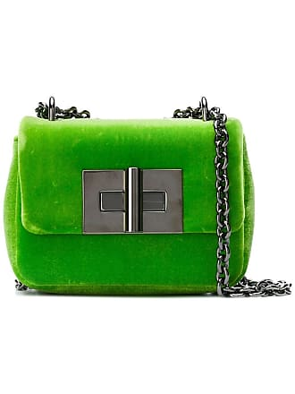 Tom Ford Bolsa tiracolo Natalia de veludo - Verde