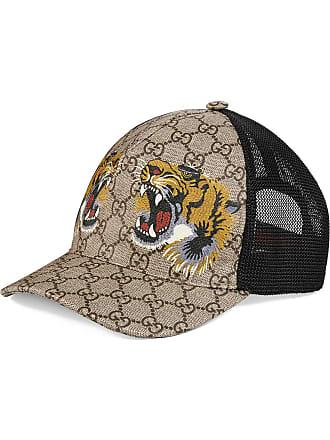 30c5ee9c53a7b Gucci Tigers print GG Supreme baseball hat - Neutrals