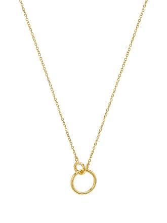 Gorjana Wilshire Charm Necklace in Metallic Gold