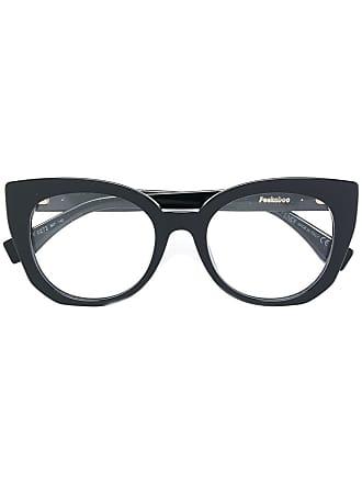 Fendi Óculos de grau gatinho - Preto