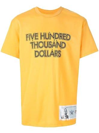 Yoshiokubo MONEY T-shirt - Yellow