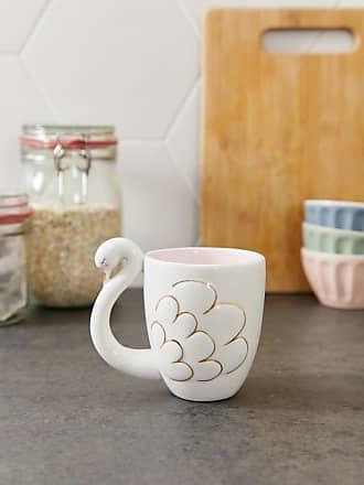 Sass & Belle swan mug-Pink