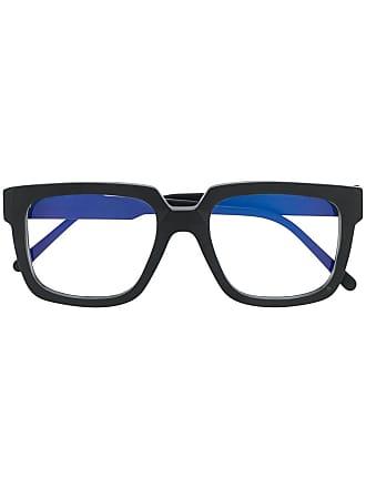 Kuboraum Armação de óculos quadrada bicolor - Bm