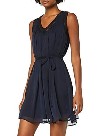 87280a32d02 Vero Moda Vmenjoy SL Dress WVN Robe, Bleu Night Sky, 40 (Taille Fabricant