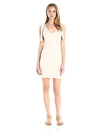 32d5ca4a4b Minkpink Womens Tongue Tied Shoulder Dress, Pale Nude X-Small