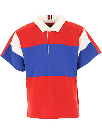 c4d3cb54a Tommy Hilfiger Polo Shirt for Men On Sale in Outlet, Red, Cotton, 2017