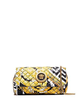 Versace Savage Barocco quilted shoulder bag - Multicolor