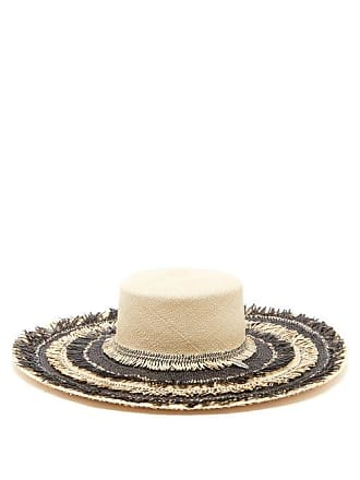 22bec6182de3d House of Lafayette House Of Lafayette - Reed Fringed Straw Hat - Womens -  Cream