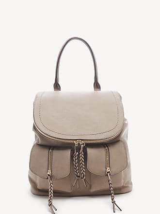 Sole Society Womens Emery Backpack Vegan Leather Gravel One Size From Sole Society