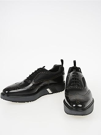 Prada Leather Oxford with Burguing size 10