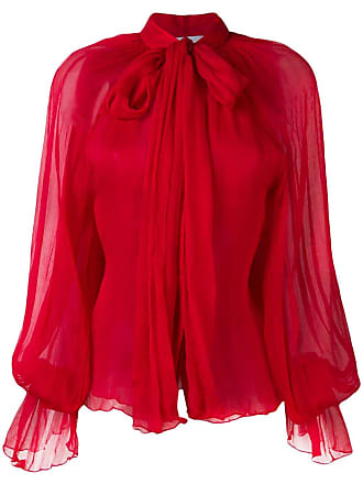 ed9a5b4cf7 Atu Body Couture floaty pussy bow blouse - Vermelho