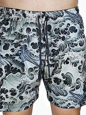 Kevland Underwear Short Kevland Black Waves 2 Azul