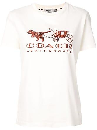 Coach logo T-shirt - Neutrals