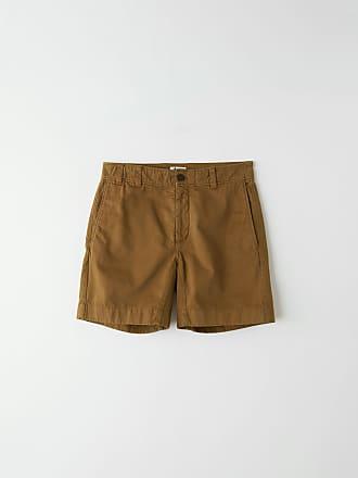 Acne Studios FN-MN-SHOR000009 Olive green Cotton shorts