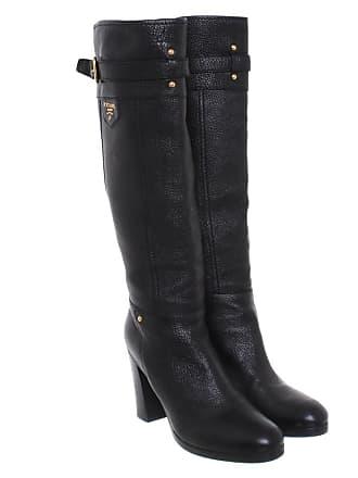 38f17f098de7c Prada gebraucht - Stiefel aus Leder in Schwarz - EU 37 - Damen - Leder