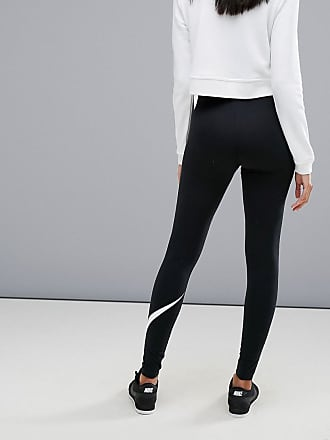 9f07f7a113e4 Nike club leggings with swoosh logo - Black