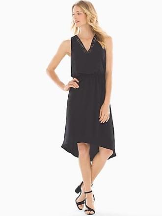 Soma Adrianna Papell Shirt Dress Black, Size 10