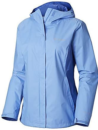 9dde77f101 Columbia Womens Arcadia II Jacket, White Cap, Arctic Blue, Large