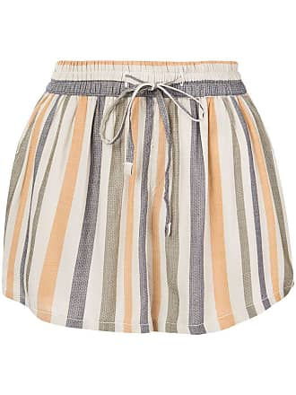 Onia striped Aleen shorts - Neutrals