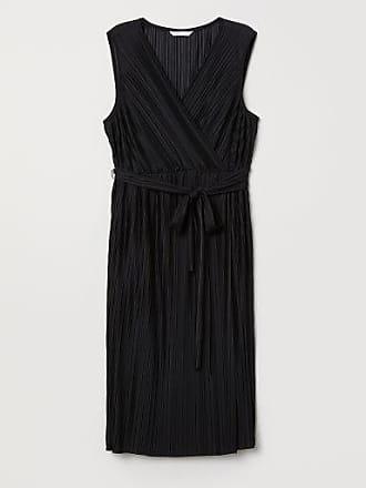 H&M MAMA Pleated Dress - Black