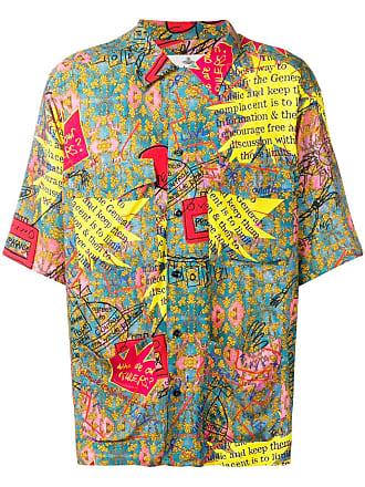 Vivienne Westwood print mix shirt - Blue