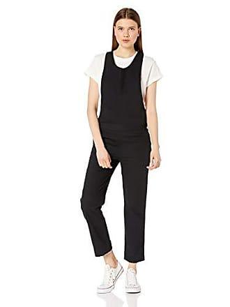 Hurley Juniors Modernist One Piece Jumpsuit, Black, XS