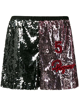 5 Progress two tone sequin shorts - Rosa