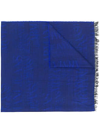Armani Jeans Cachecol jacquard - Azul