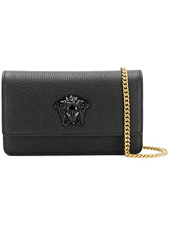745ed839c750 Versace Medusa Head clutch bag - Black