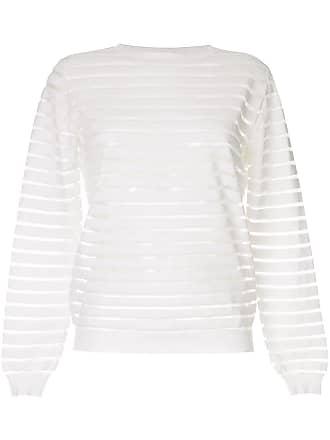 Nina Ricci Suéter listrado - Branco