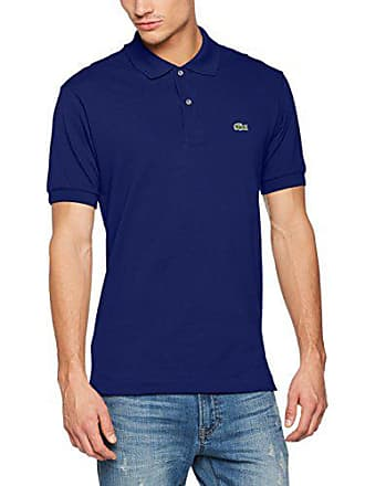 41bf293175 Lacoste L1212 - Polo - Coupe droite - Manches courtes - Homme - Bleu (Oceane