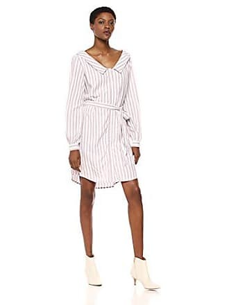 150e1b6c040 cupcakes and cashmere Womens Daylily Yarn Dyed Rayon Stripe Shirt Dress