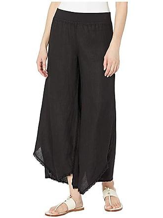 Xcvi Astri Linen Pants (Black) Womens Casual Pants