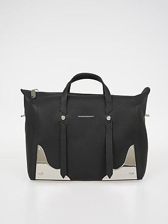 43c79e348f39 Calvin Klein 205W39NYC Leather Bowler Bag size Unica