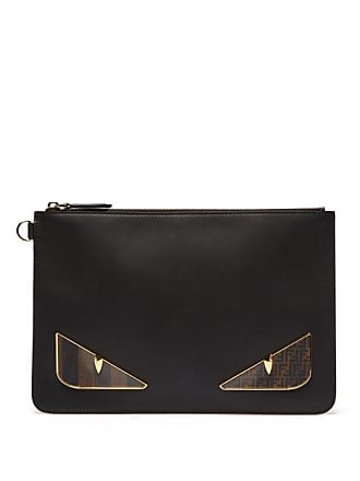 8c549ee5207 Fendi Pochette en cuir Bag Bugs