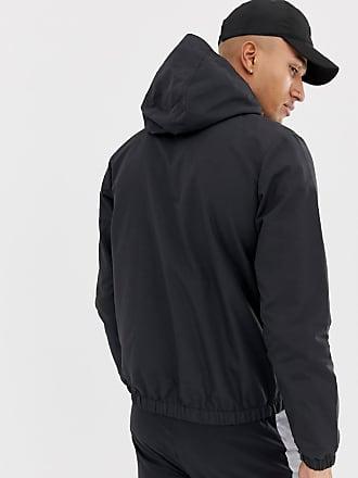 Ellesse Festi - Jacke zum Überziehen in Anthrazit mit Logo - Grau 20e5bb60c3
