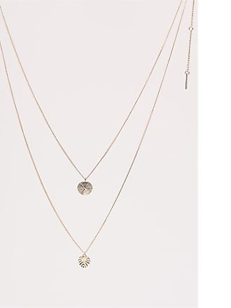 Dynamite Pendant Necklace Set Gold