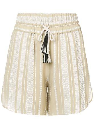 Zeus + Dione Paxi patterned shorts - Neutrals