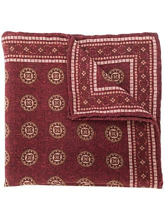 Brunello Cucinelli patterned scarf - Vermelho