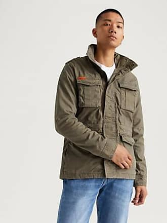 e3808587 Superdry Classic Rookie Military Jacket Brun