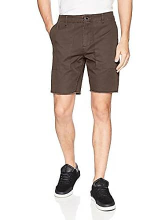 O'Neill Mens 19 Inch Outseam Hybrid Stretch Walk Short, Coffee, 28
