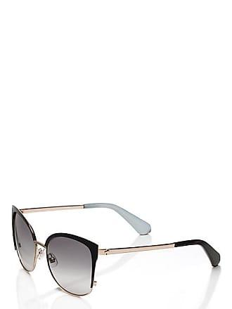 Kate Spade New York Genice Sunglasses, Black/Gold