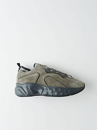 1e27d579cba3 Acne Studios Rockaway Suede Grey grey Technical sneakers