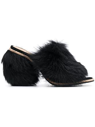 UGG Sapato mule Rosa de couro - Preto