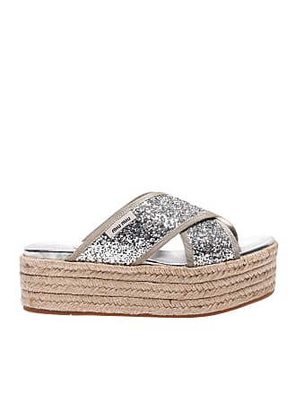 a4ad6401432 Miu Miu® Sandals − Sale  up to −70%