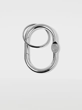 Maison Margiela Maison Margiela Key Ring Silver Brass, Steel