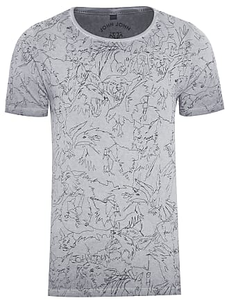 John John T-SHIRT MASCULINA RX ALL ANIMALS - CINZA