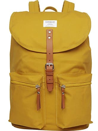Sandqvist Roald Ground Backpack   Yellow
