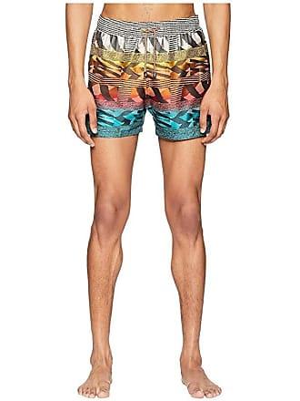 d00497d3dbc6f Missoni Mare Sfumato Jacquard Swim Shorts (Blue/Red) Mens Swimwear