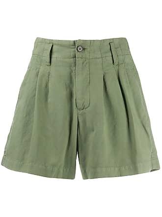 Ymc You Must Create plain short shorts - Green